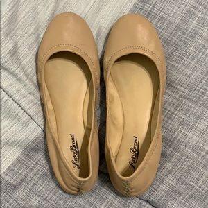 Lucky Brand nude ballet flats